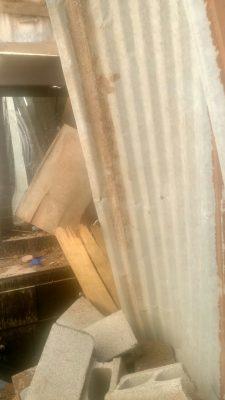 Sin apoyo dueño de la casa colapsada en Santa Bárbara