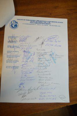 Ratifica sindicato: Jmas viola contrato colectivo