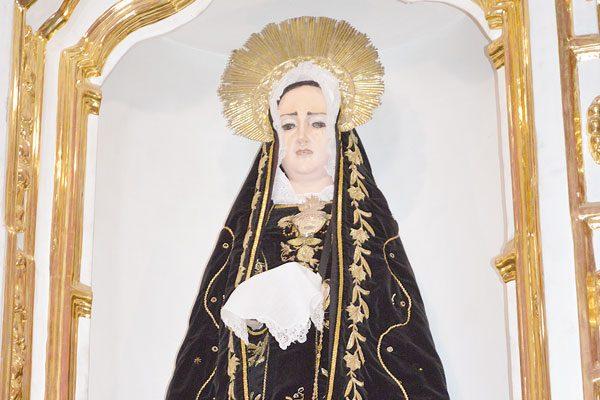 Hoy celebran 74 años de la coronación pontificia de la Virgen de la Soledad