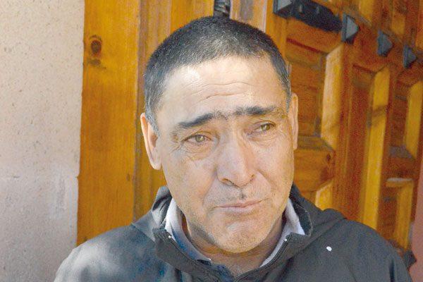 Carlos: 35 años visitando a la Virgen de la Soledad