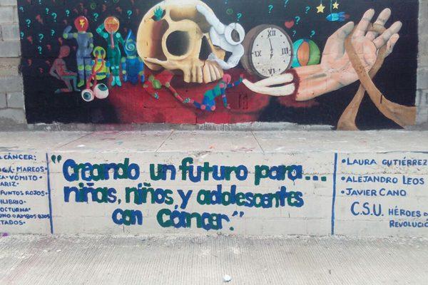 Ganan jóvenes parralenses concurso de  pintura organizado por la Secretaría de Salud