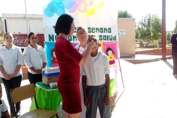 Inicia la tercera campaña de vacunación para  niños menores de 5 años
