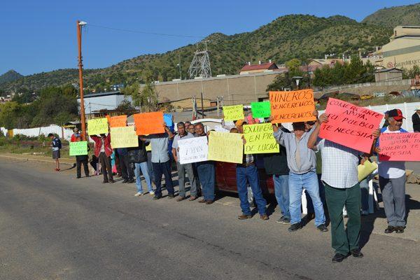 Ex mineros de Santa Bárbara afirman no haber recibido ninguna respuesta