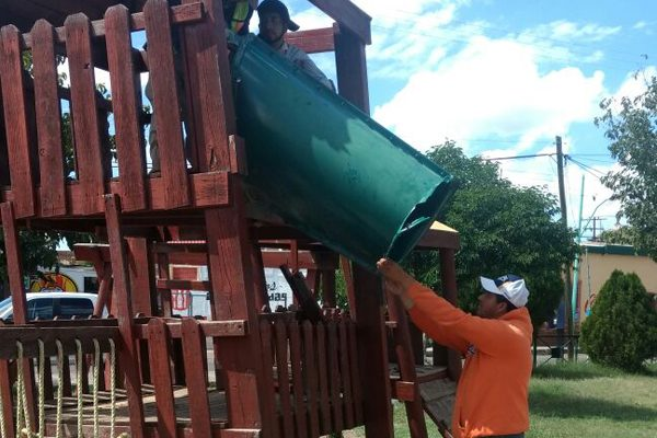 """Parque """"Gerardo Montes"""", en deterioro por mal uso"""