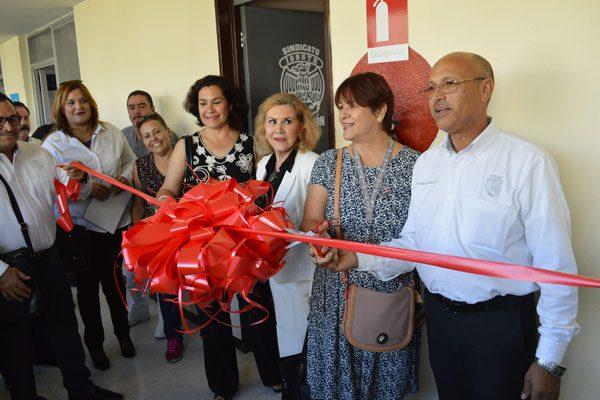 Inauguran las nuevas oficinas de la  delegación local del sindicato del Issste