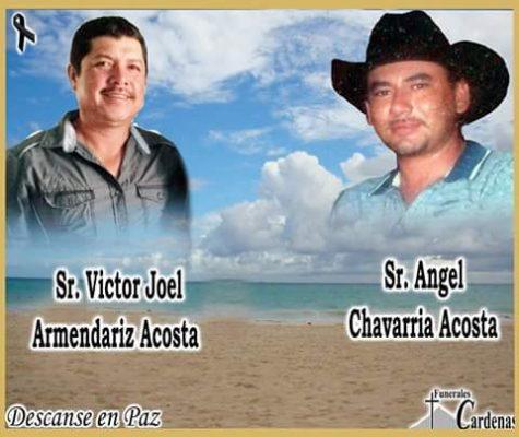 Dan el último adiós a los hombres ejecutados el domingo en el ojo de Atotonilco, Villa López