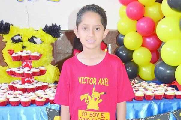 Divertida Fiesta Infantil Víctor Axel Méndez Barraza