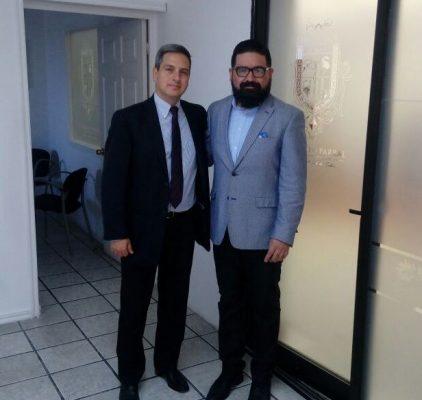 Realiza Fiscal General, gira de trabajo en Hidalgo del Parral.