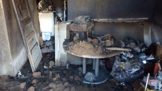 Propietaria de domicilio incendiado en Allende sospecha fue provocado