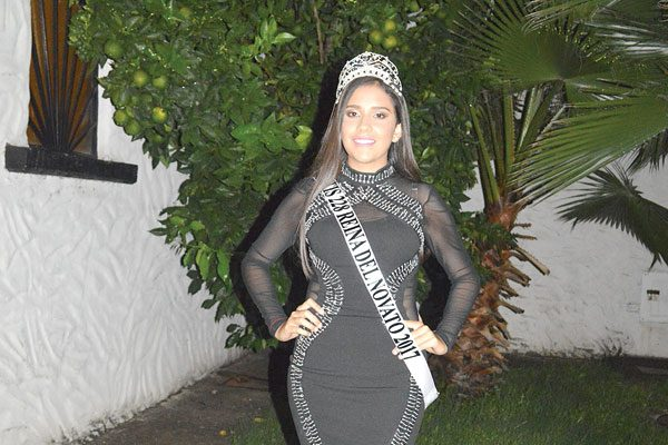 Reina del Novato del CBTis 228 Andrea Ramírez Chávez