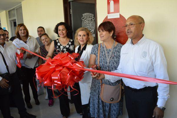 Inauguran nuevas oficinas de la delegación local del Sindicato del Issste