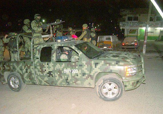 Instalarán cuartel militar permanente en Villa López