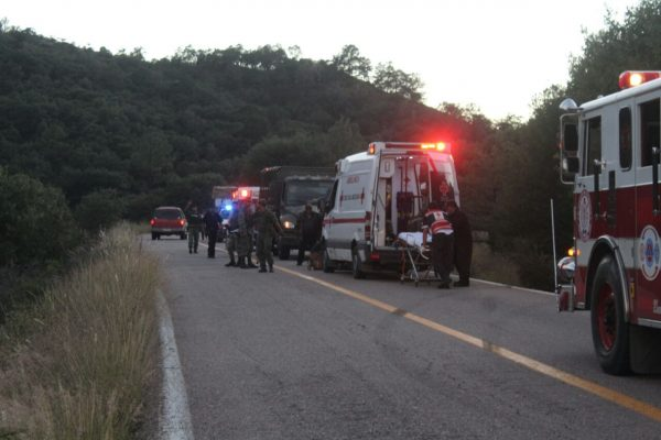 Identifican a militares accidentados