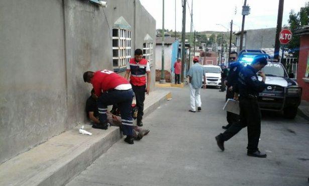 Reportan hombre lesionado  en la colonia Emiliano Zapata