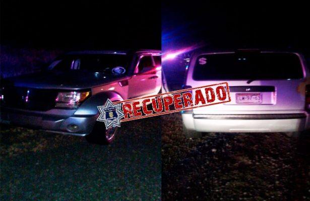 Policía Municipal recupera vehículo robado