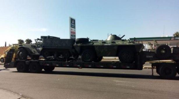 Despliegue militar en la zona sur del Estado