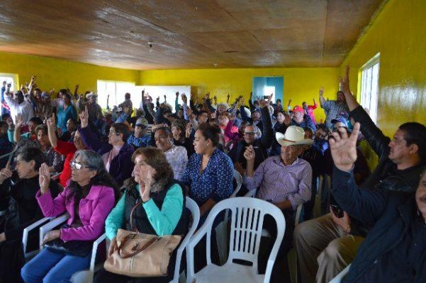 Ejido Catedral acuerda demandar a Telmex por invasión y destrucción del bosque y cobrar una renta anual por 400 mil pesos