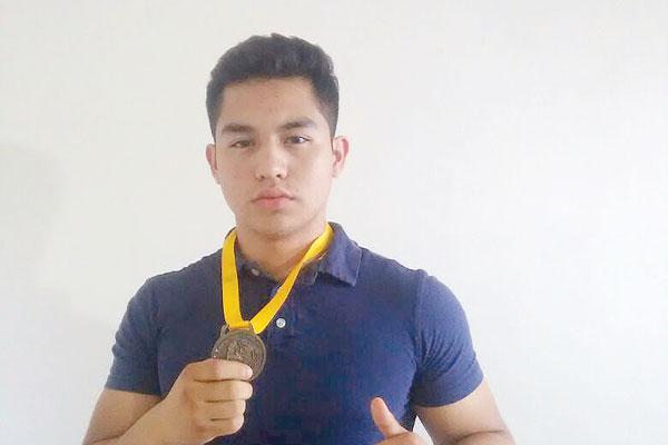 PIE DE FOTO: YAMIL JOEL Luna Hidalgo, convocado por la Federación Mexicana de Boxeo a las eliminatorias de la selección nacional para los clasificatorios de Juegos Olímpicos de la Juventud 2018.