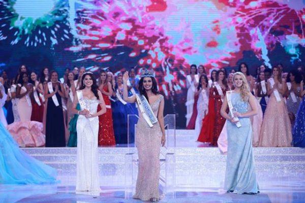 Chihuahuense queda como primer finalista en Miss World 2017