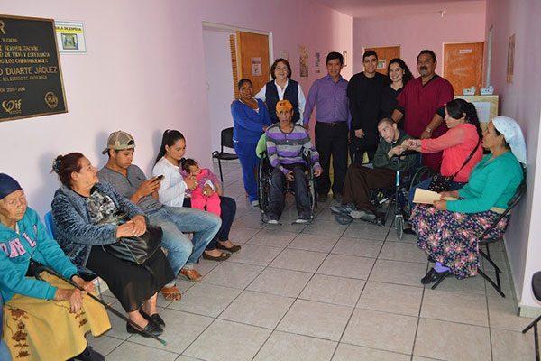 Todo un éxito, la UBR en Guadalupe y Calvo