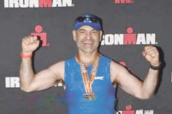 Jesús Antonio Rodríguez Loya, el Ironman parralense