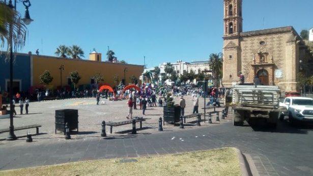 A partir de las 12:00 del mediodía, cerraran la circulación vial en la Plaza Identidad