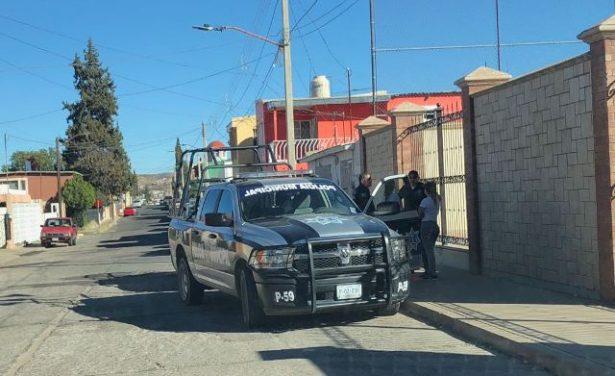 Movilización policiaca en la AltaVista por riña familiar