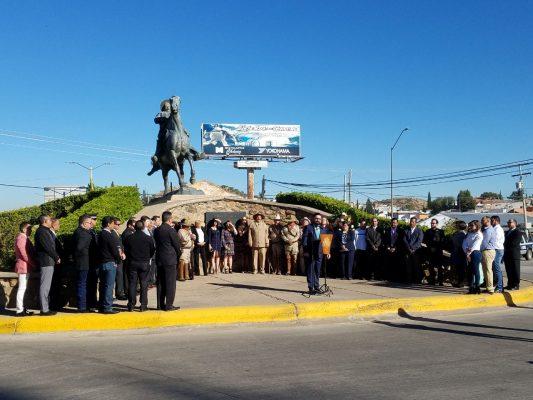 Guardia de honor por el 107 Aniversario de la Revolución Mexicana