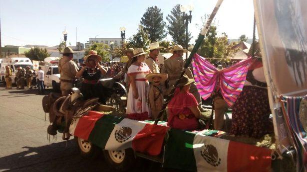 Video y Galería: Inicia el desfile por el CVII Aniversario de la Revolución Mexicana