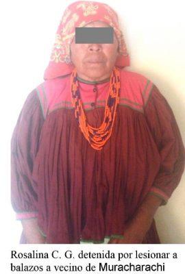 Detienen a mujer Tarahumara que baleó a hombre