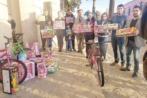 Culmina con éxito recepción de juguetes en el Radioteletón