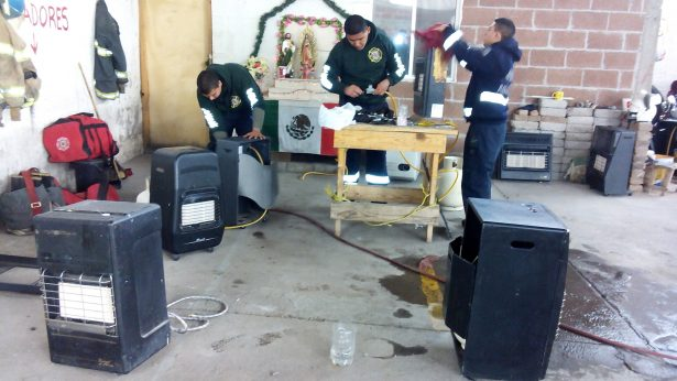 Revisa Protección Civil hasta 25 calentones al día, en Jiménez