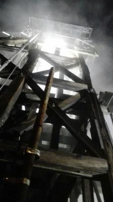 Reporte de incendio en la mina la Prieta moviliza a bomberos