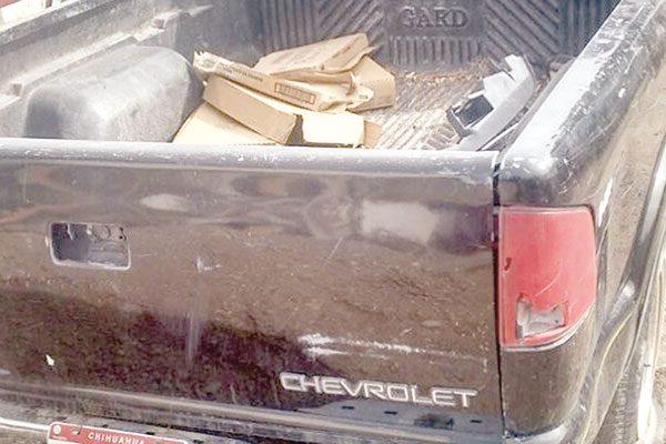 Localizan camioneta robada en Delicias