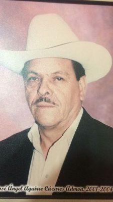 Fallece ex presidente municipal de Guadalupe y Calvo  José Ángel Aguirre Cazares