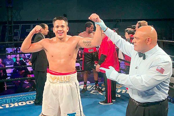 Misael 'El Chino' Rodríguez sigue invicto