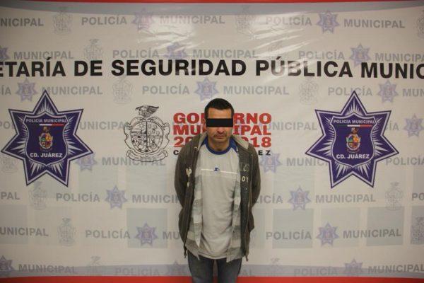 Arrestan a sujeto con más de 6 mil dosis de heroína en Ciudad Juárez