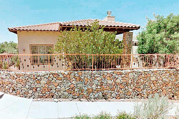 ¿Dónde están las casas de César Duarte en El Paso, Texas?