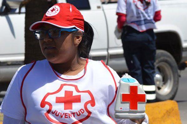 Recaba Cruz Roja menos dinero en la colecta anual