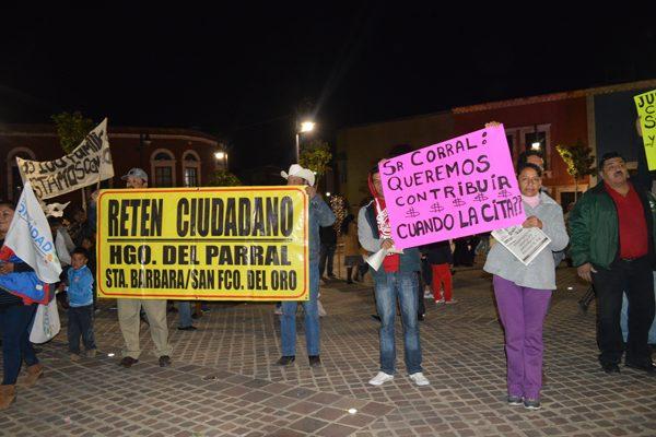 Retén Ciudadano se manifiesta en Caravana por la Dignidad