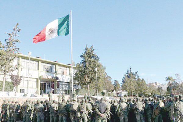 Refuerzan con 700 militares lucha contra el narcotráfico