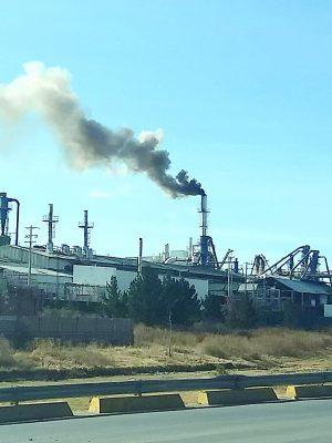 Se incendia la tronera de la empresa Duraplay