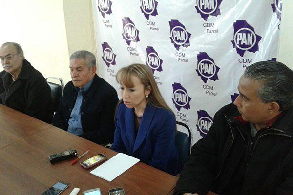 Miembros del PAN expresan apoyo al Gobernador respecto a la polémica de los recursos del estado