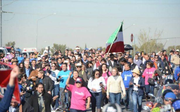Arranca caravana contra la corrupción desde Ciudad Juárez