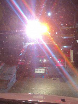 Hombre que conducía en tercer grado de ebriedad fue detenido por múltiples faltas