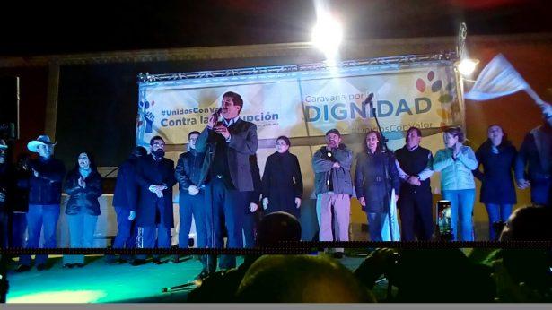 VIDEO: Las miradas internacionales están puestas sobre Chihuahua a través de esta Caravana de la Dignidad