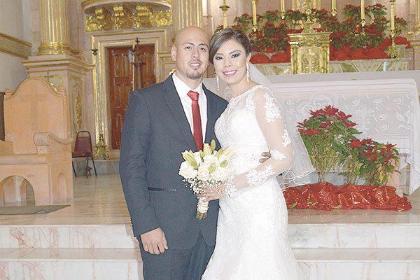 Se Unieron en Matrimonio Priscila y Alberto