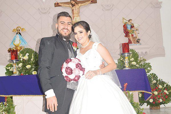 Contrajeron Matrimonio Itzel Escobedo y Daniel Saucedo
