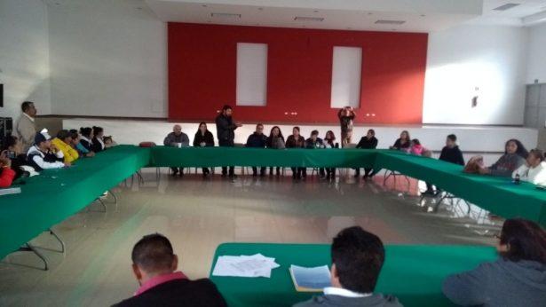 Acuden sectores y seccionales a solicitar que José Luis Martínez sea el pre-candidato a la Presidencia