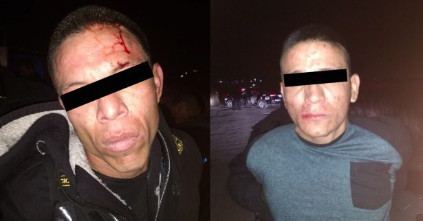 Capturan a dos sicarios en Chihuahua que iban a matar a joven en Juárez